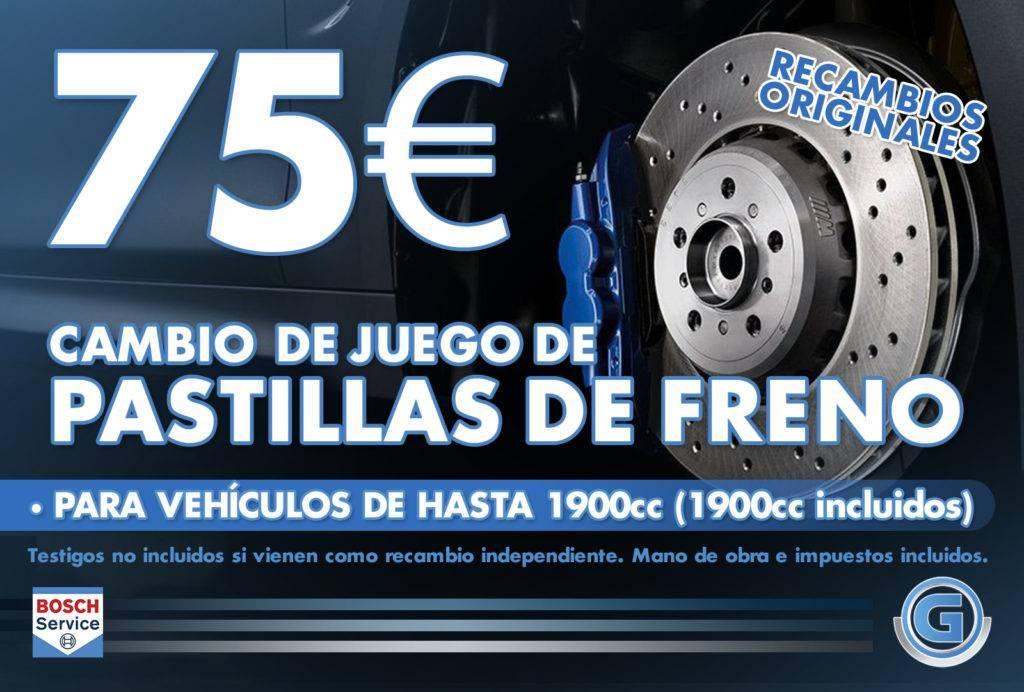 Oferta Frenos Madrid Getauto