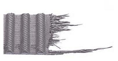 Correa de distribución rota
