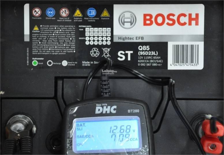 carga bateria bosch