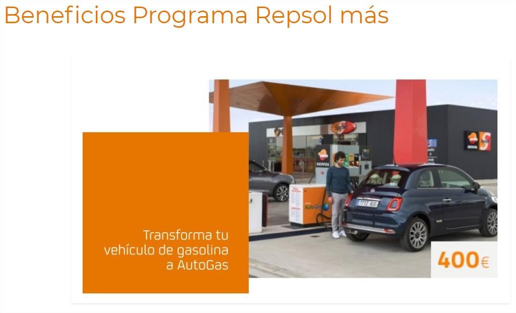 Repsol Autogas 400 euros