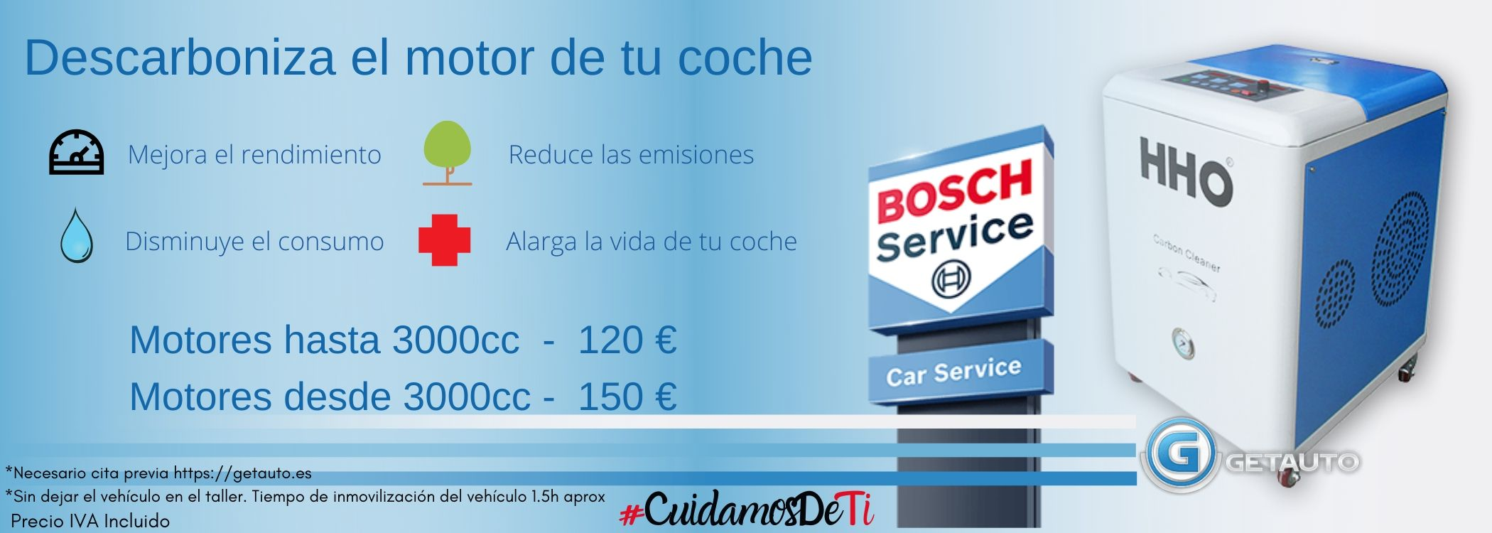 Descarbonizar motor Madrid