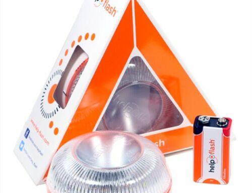 Sustitución de triángulos de seguridad por las nuevas luces de emergencia